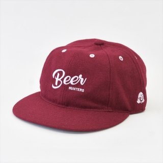 Tacoma Fuji Records(タコマフジレコード)BEER HUNTER CAP バーガンディー