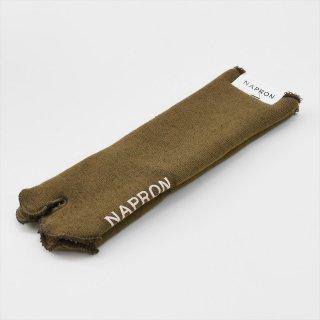 Napron(ナプロン)PILE TABI SOX ブラウン