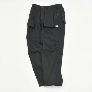 Sassafras(ササフラス)DIG CREW PANTS ブラック(ヘリンボーン)