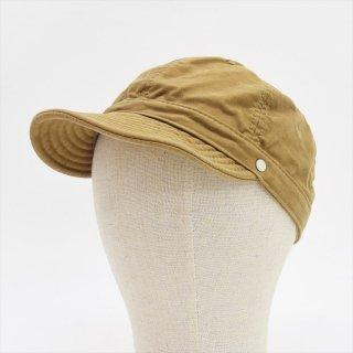 Decho(デコー)SHALLOW KOME CAP ベージュ(モールスキン)