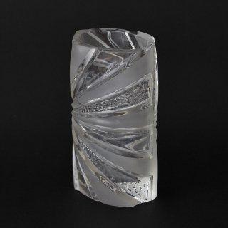 西ドイツ OP ART(オプアート)ガラス製フラワーベース(西ドイツ、1960〜70年代ヴィンテージ)