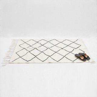 モロッコ ベニワレン ラグマット 150x95(綿ウール混)B