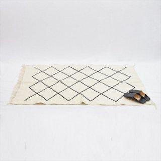 モロッコ ベニワレン ラグマット 150x95(綿ウール混)C