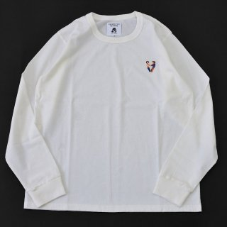 TACOMA FUJI RECORDS (タコマフジレコード)FREE FEELING LS embroidery shirt