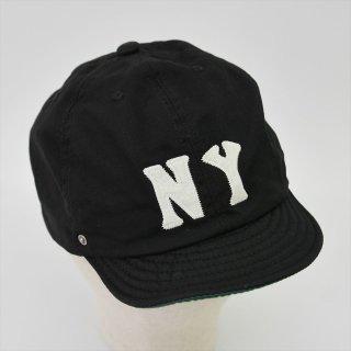 DECHO (デコー)× EBETTSFIELD(エベッツフィールド, US)NEGRO BALL CAP -NY- ブラック