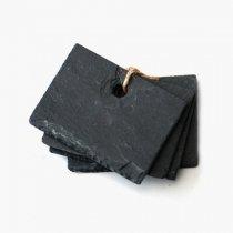 イギリスNutscene(ナッツシーン)スレートラベルS|7x5.5cm(4枚セット)