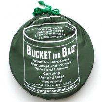 イギリスBurgon & Ball(バーゴン&ボール)ポップアップバケツ11L|グリーン
