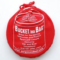 イギリスBurgon & Ball(バーゴン&ボール)ポップアップバケツ11L|レッド
