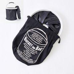 イギリスBurgon & Ball(バーゴン&ボール)ポップアップバケツ11L|ブラック