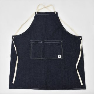 WORKS & LABO.(ワークス&ラボ)GROW YOUR OWN APRON(エプロン)セルヴィッヂデニム