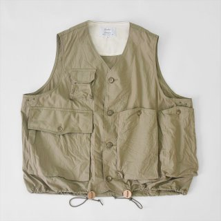 Another 20th Century(アナザートゥエンティースセンチュリー)RIVER RUNS VEST カーキ