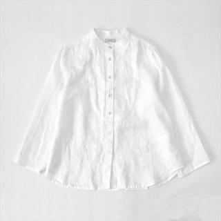 Fog linen work(フォグリネンワーク)セレニティーシャツ ホワイト(薄地リネン)