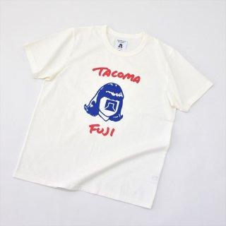 Tacoma Fuji Records (タコマフジレコード)HANDWRITING LOGO TEE designed by Tomoo Gokita ホワイト