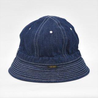 Decho(デコー)BELL HAT インディゴ(11ozデニム)