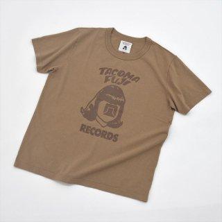 Tacoma Fuji Records (タコマフジレコード)TACOMA FUJI RECORDS LOGO Coffee Dye(コーヒー染め)