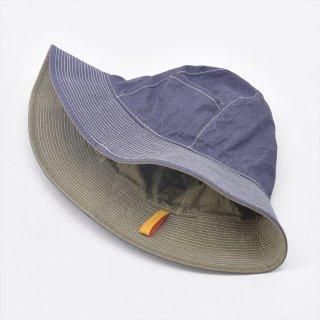 Another 20th Century(アナザートゥエンティースセンチュリー)Sun Mellow Hat (リバーシブルハット)プルーン&キーウィ
