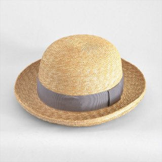Napron(ナプロン)STRAW BRADE BOWLER グレー(麦わら帽子)