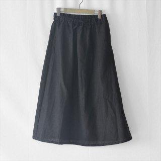 Fog linen work(フォグリネンワーク)モニカスカート ブラック(普通地リネン)