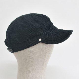 Decho(デコー)KOME CAP ブラック(サマーコーデュロイ)