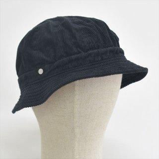 Decho(デコー)KOME HAT ブラック(サマーコーデュロイ)