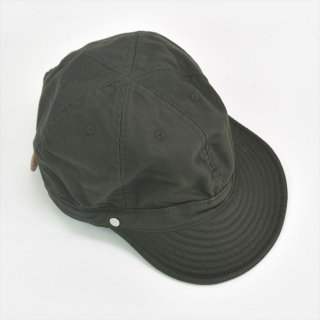Decho(デコー)KOME CAP ダークグリーン(モールスキン)