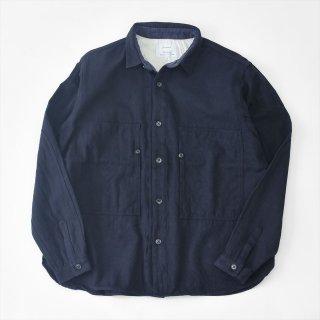 Another 20th Century(アナザートゥエンティースセンチュリー)Artwork � shirts - modify ネイビー(コットンウール)