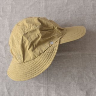 Decho(デコー)FISHING RAIN CAP ベージュ(コットン/ナイロン)
