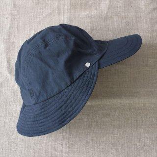Decho(デコー)FISHING RAIN CAP ネイビー(コットン/ナイロン)