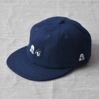 Tacoma Fuji Records(タコマフジレコード) Double Face CAP  ブラック designed by LUNG