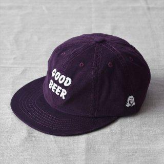 Tacoma Fuji Records(タコマフジレコード)GOOD BEER CAP バーガンディー designed by Jerry UKAI