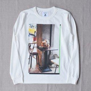 Tacoma Fuji Recrods (タコマフジレコード)Table Dog L/S ホワイト
