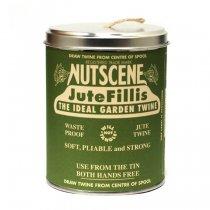 イギリスNutscene(ナッツシーン)缶入り麻ひもスプール150m|ナチュラル