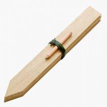 イギリスNutscene(ナッツシーン)木製プランツラベル30cm(鉛筆付き)
