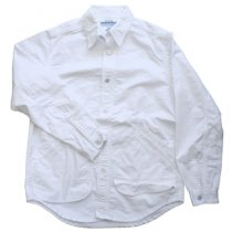 SASSAFRAS(ササフラス)ウォータリングシャツ|ホワイト