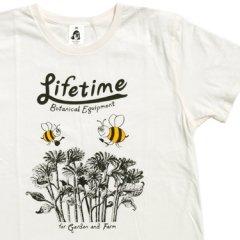 タコマフジレコード x WORKS & LABO.(ワークス&ラボ)LifetimeTシャツ オフホワイト