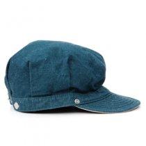 DECHO(デコー)WORKERS CAP|SEA BLUE DENIM ブルー(スタンダード)