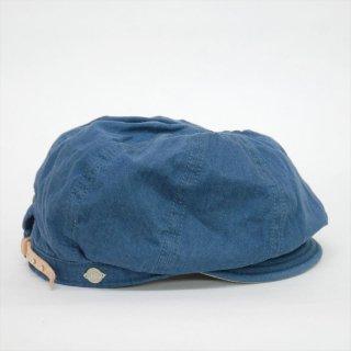 DECHO(デコー)BIKERS CAP ブルーデニム
