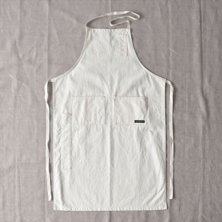 Napron(ナプロン)AP-05 4 POCKET CANVAS FULL APRON ホワイト