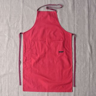 Napron(ナプロン)4POCKET CANVAS FULL APRON レッド (AP-05 )