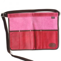 イギリスBradley's(ブラッドリーズ)ツールロールエプロン|ピンク