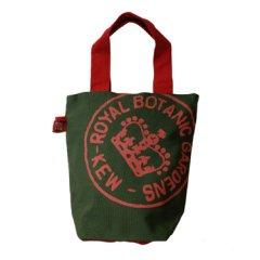 (完売御礼)イギリスKew Royal Botanic Gardens(キューガーデン)ショッピングバッグM グリーン