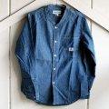 SASSAFRAS(ササフラス)Vase Wall Shirt|ブルー