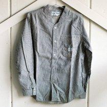 SASSAFRAS(ササフラス)Vase Wall Shirt|ストライプ M