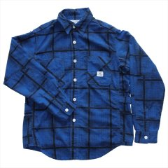 SASSAFRAS(ササフラス)GARDENER HALF(COTTON FLANNEL)チェック