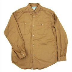 SASSAFRAS(ササフラス)PLANT HUNTER SHIRT(CHINO CLOTH)ベージュ