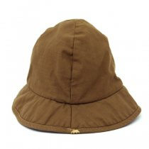 DECHO(デコー)DELTA HAT BACK SATIN カーキ