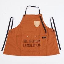 Napron(ナプロン)AP-01 BIB APRON ブラウン