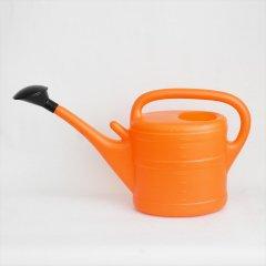 ドイツ製プラスチックジョーロ10L|オレンジ