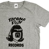 TACOMA FUJI RECORDS (タコマフジレコード)TACOMA LOGO グレー[8th Collection]