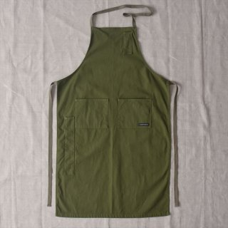Napron(ナプロン)AP-05 4 POCKET CANVAS FULL APRON レッド